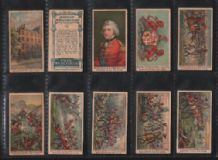 Trade Cigarette card Days of Wellington by Fry